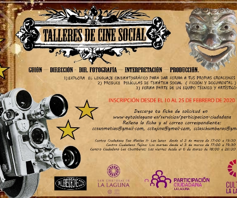 CARTEL CINE SOCIAL 07 FEB 2020
